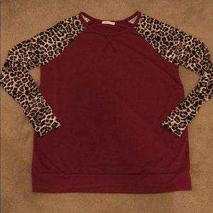 Chic Soul cheetah top